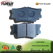 SEMI-METALLIC CAR BRAKE PAD FOR TOYOTA RAV4 REAR 2006